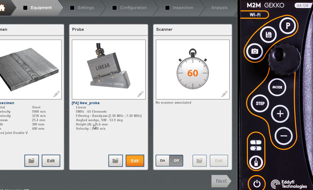 Capture Setup Creation training image